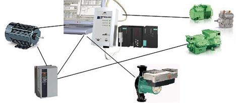 Anlagenkomponenten Energiesparkonzept