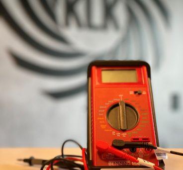 KLK Kältetechnik Voltmeter